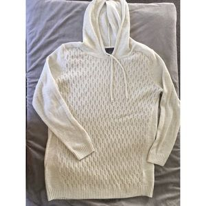 Maternity Cream Cable Knit Pull-over Sweater